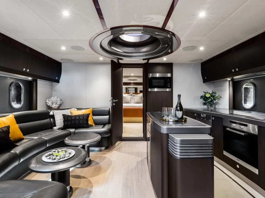 Sydney superyacht for hire Privacy