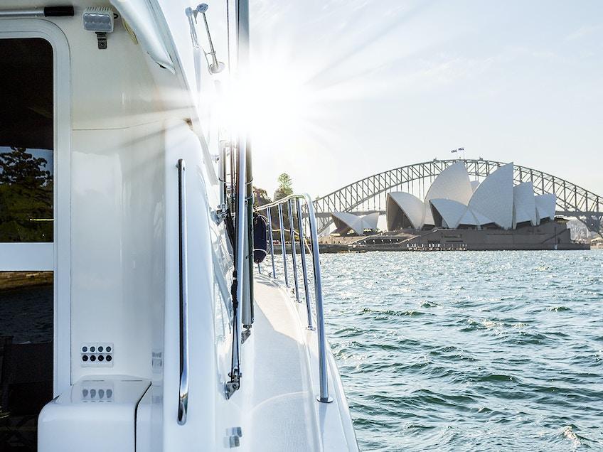Ocean Blue Side Deck Opera House