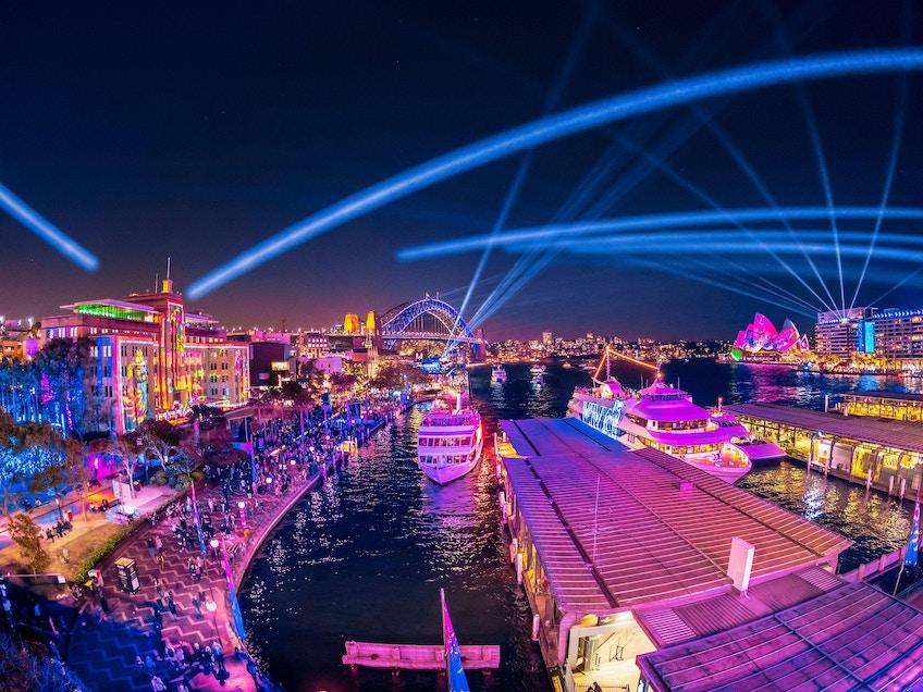 Vivid Sydney cruises 2021