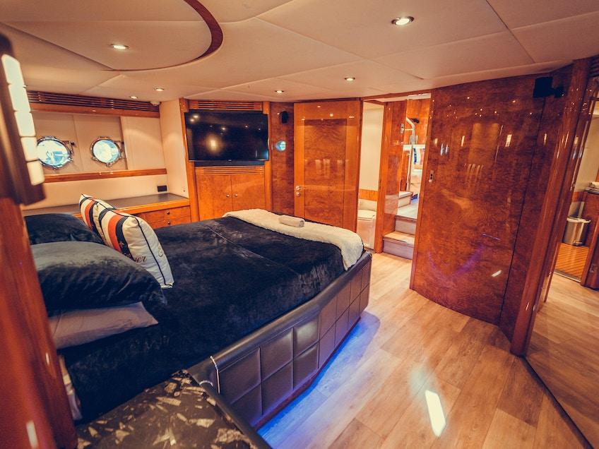 Sydney superyacht for hire Prometheus