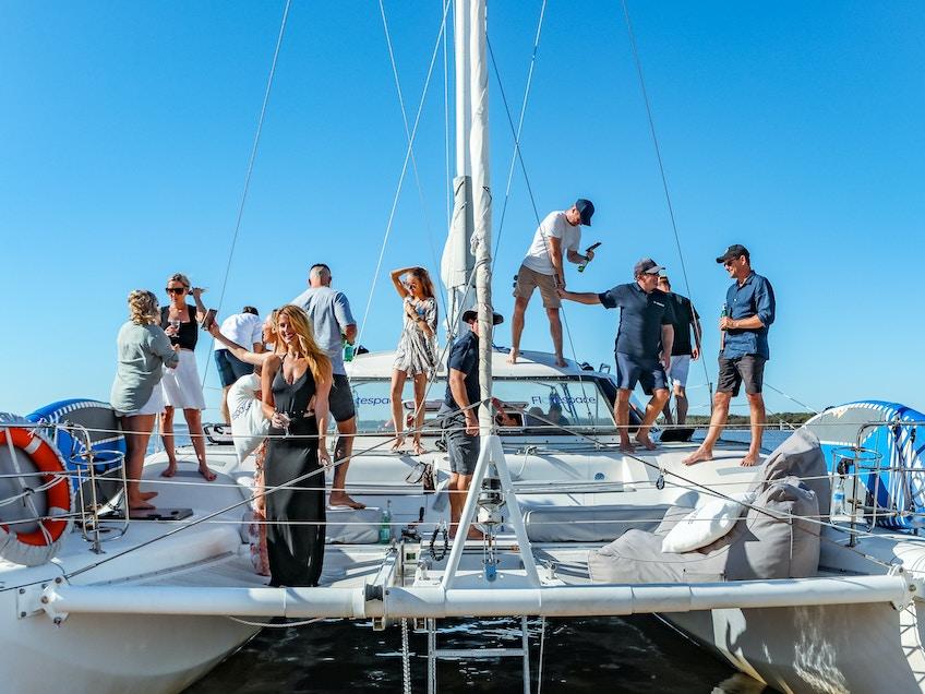 Gold Coast yacht charter Serrano