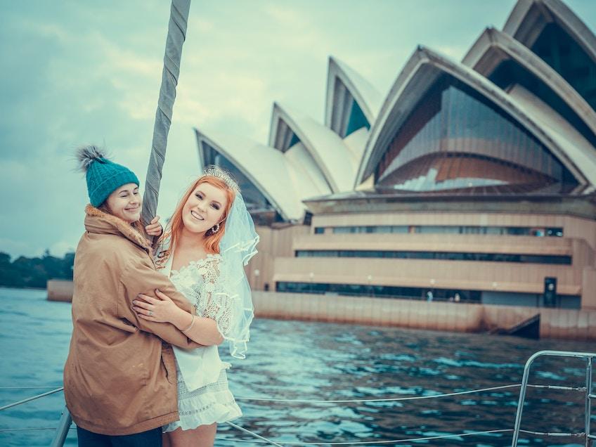 Hire a boat Sydney Australia winter