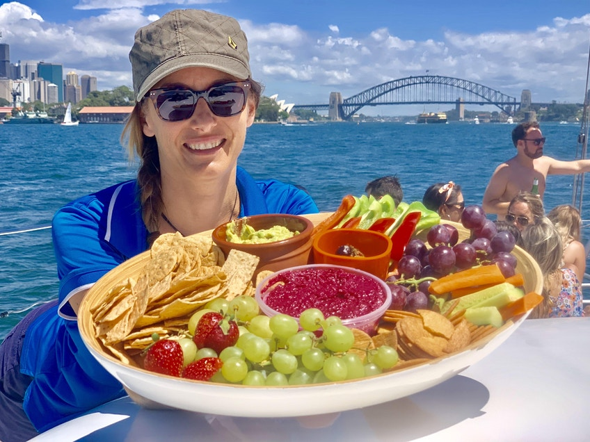Sydney Harbour boat hire lunch